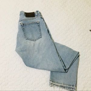 Calvin Klein Vintage Sandblast High Waisted Jeans